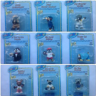 Factory Sealed! Rare Set of 9 WEBKINZ FIGURINE Series 2  with CODES