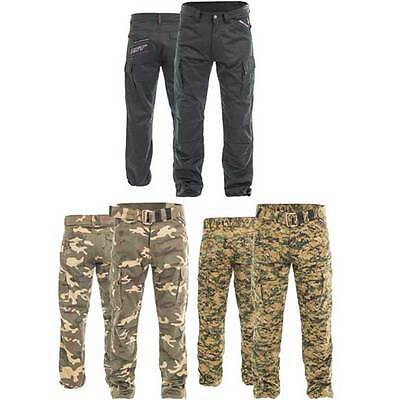 RST Aramid Utility Cargo Camo Motorcycle Motorbike Jeans Trousers | All Sizes