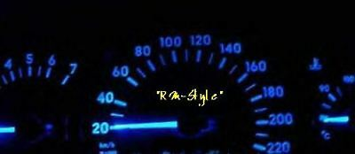 Led Speedometer blue Audi A4 B5 to Yr. 97 WITHOUT SOLDER