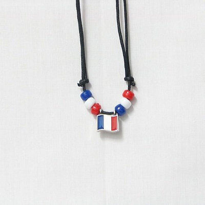 NEW SLOVENIA  COUNTRY FLAG SMALL METAL NECKLACE CHOKER .