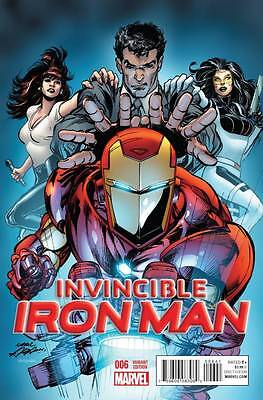 Invincible Iron Man # 6 Variant Cover  Marvel NM