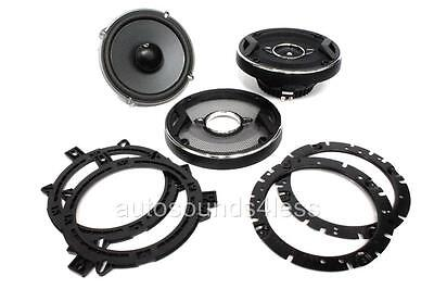 "JBL GTO629 360 Watts GTO Series 6.5"" 2-Way Coaxial Car Audio Speakers 6-1/2"" New"