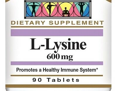 SUPER Lysine Cold Sore Relief 1000 mg 2 x 100 Tablets NEW