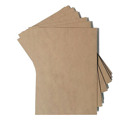 MDF Backing Board Panels for Framing, Art, Painting - A4 PACK OF 10