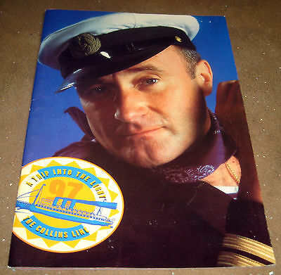 PHIL COLLINS ~ 1997 - A TRIP INTO THE NIGHT ~ TOUR PROGRAMME 40pp ~ EX+
