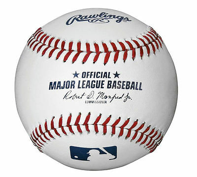 Rawlings Official Major League Baseball Romlb MLB Rob Manfred Unsigned ball new