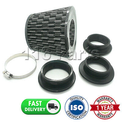 Sports Performance Fits 99% Cars Carbon Universal Induction Cone Air Filter
