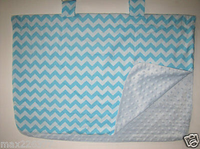 NEW baby INFANT  car seat cover shade cotton BLANKET lined  canopy minky chevron