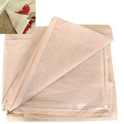 PROFESSIONAL LAMINATED 12ft X 9 ft COTTON TWILL DUST SHEETS DOUBLE PROTECTION
