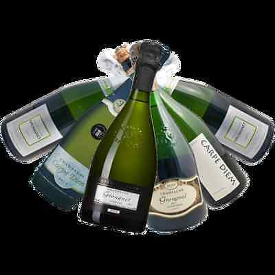 Boutique French Mixed Champagne - GRONGNET CHAMPAGNE HOUSE - 6 Bottles Variety