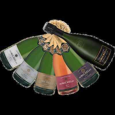 Premium French Mixed Champagne - JOSE MICHEL CHAMPAGNE HOUSE - 6 Bottles Variety