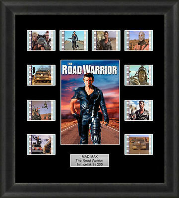 Mad Max the Road Warrior Framed 35mm Film Cell Memorabilia Filmcells Movie Cell