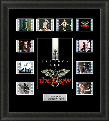 The Crow 1994  Mounted Framed 35Mm Film Cell Memorabilia Brandon Lee