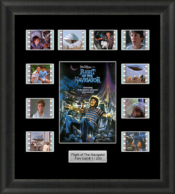 Flight of the Navigator Framed 35mm Film Cell Memorabilia Filmcells Movie Cell P