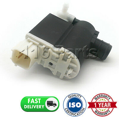 For Hyundai Coupe (2007-2015) Front & Rear Twin Outlet Windscreen Washer Pump