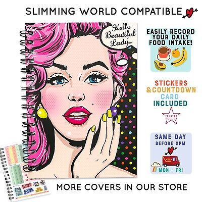 Food Diary, Diet, Slimming World Compatible, Tracker, Journal, Log, Weight Loss