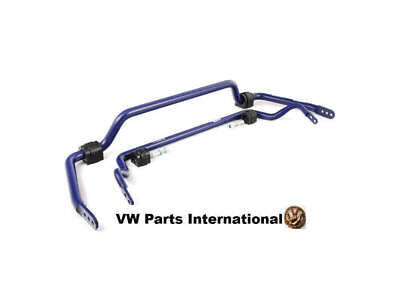 VW POLO 9N With CoiloverS H&R Anti Roll Bar Kit Sway Bar D= F22 R25mm 2001>