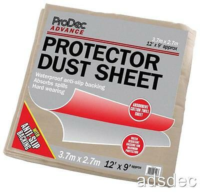 (Bundle of 3x)   9ft x 12ft Protector Dust Sheets