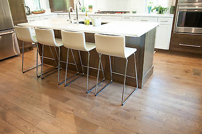 European White Oak Stained Sahara Brushed Oiled Hardwood Wood Flooring Sample