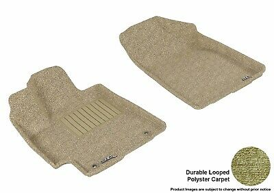 3D Anti-Skid Front Fits Highlander 2008-2013 GTCA78850 Tan Carpet Auto Parts Per