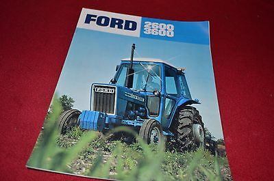Ford 2600 3600 Tractor Dealer's Brochure YABE7