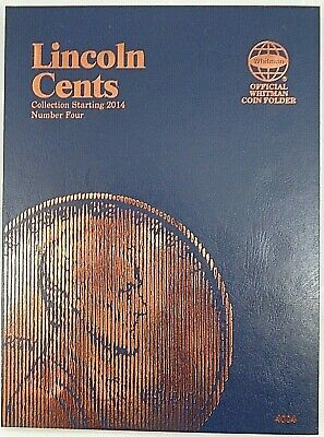 Whitman Lincoln Cent #4 Starting 2014 Coin Folder #4004 Album/Book