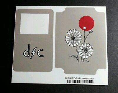 Dashboard Confessional Flower Lot 2Pcs On 1 Sheet Video Ipod Skin Music Sticker