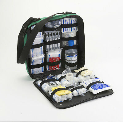 First Response First Aid Kit In Water Resistant Bag - EMT/Event Medics