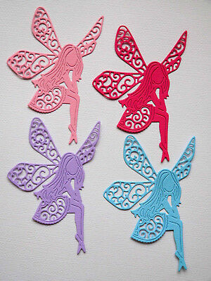 Fairy Tinkerbell Die Cuts x 8 Scrapbooking Cardmaking Embellishment