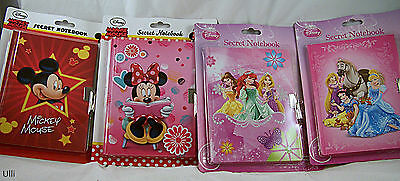 Nr285.Tagebuch mit Schloß Disney Princess , Mickey Mouse Minnie Mouse auss. NEU!