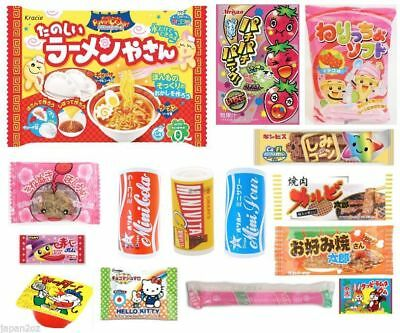 15 PIECE JAPANESE CANDY SET Kracie Popin Cookin DIY Candy Jelly Chocolate Gum-2