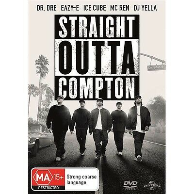 STRAIGHT OUTTA COMPTON-Oshea Jackson Jr. ,Corey Hawkins-Region 4-New AND Sealed
