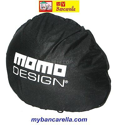 Sacca Porta Casco Momo Design (B) Nero # Helmet Bag Black