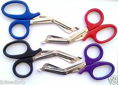 "Nurse Scissors 7.5"" Shears First Aid Trauma Paramedic Emergency Fire Rescue EMT."