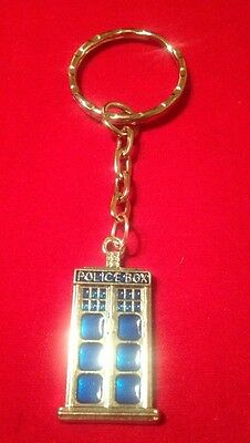 Dr Who Themed Keyring Tardis Sci-Fi
