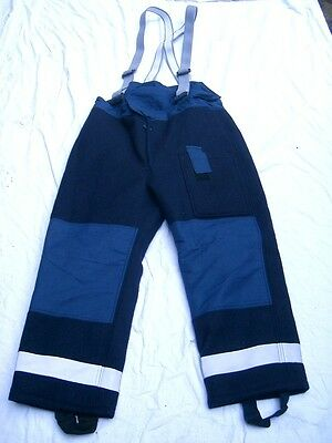 Fire brigade Pants,british army,Trousers Crash Firefighter,Size 3,Bristol,