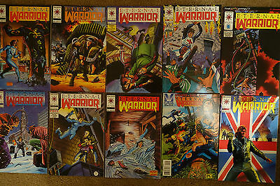 Lot of 38 Production Used Eternal Warrior Comic Books - Disney's Tomorrowland