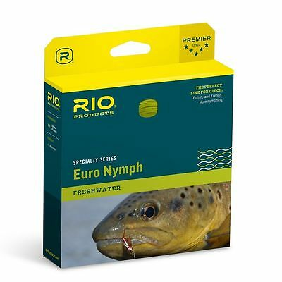 New Rio Fips Euro Nymph Competition #2-5 Weight Czech Nymph Floating Fly Line