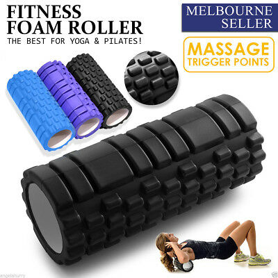 Trigger Point Fitness Foam Roller Physio Trainer Pilates Yoga Exercise Massage