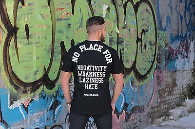 Adonis.gear- No Place For, T-Shirt, Jersey, Muscle, Gym, Training, Shirt