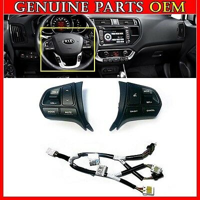 2012-2015 KIA RIO RIO5 OEM Steering Wheel Control Switch Audio Auto Cruise SET