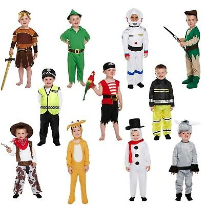 Toddler Boy Fancy Dress Up Costume Child Party Outfit World Book Day Kids Age 3+