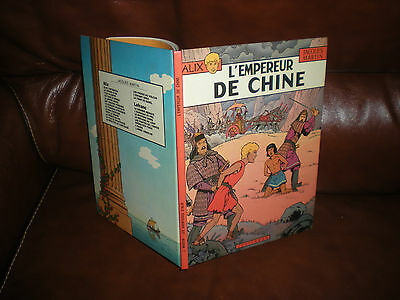 Alix N°17 L'empereur De Chine - Edition Originale Dl Et Impression Avril 1983