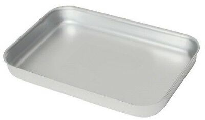 Heavy Duty Aluminium Oven Baking Tray Dish Catering 420x 305x 40mm