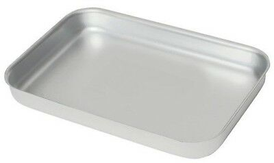 Heavy Duty Aluminium Oven Baking Tray Dish Catering 370x 265x 40mm