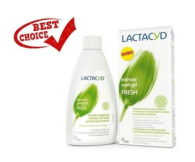 Lactacyd Intimate Wash Gel Fresh with Biological L-Lactic Acid - Cooling Feeling