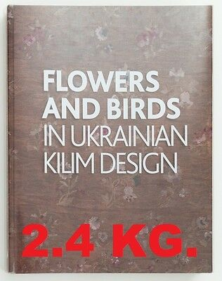 KILIMS Carpet, ENGLISH, Ukrainian Patterns, Embroidery Old Ancient ornament Book