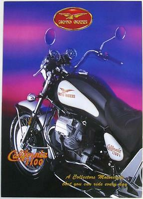 MOTO GUZZI CALIFORNIA 1100 - Motorcycle Sales Brochure - 1994