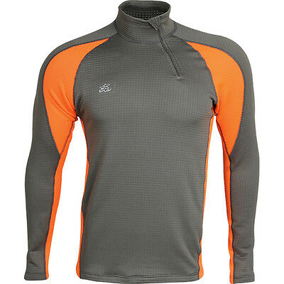 """Top Thermal Underwear Shirt L/S """"Active"""" Power Grid™ M2 Base Layer Jersey"""