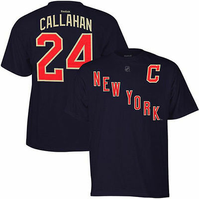 NHL Ryan Callahan New York Rangers Ice Hockey Shirt Jersey